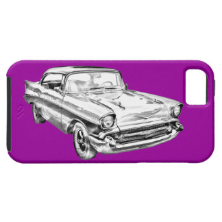 1957 Chevy Bel Air Illustration iPhone 5 Cases