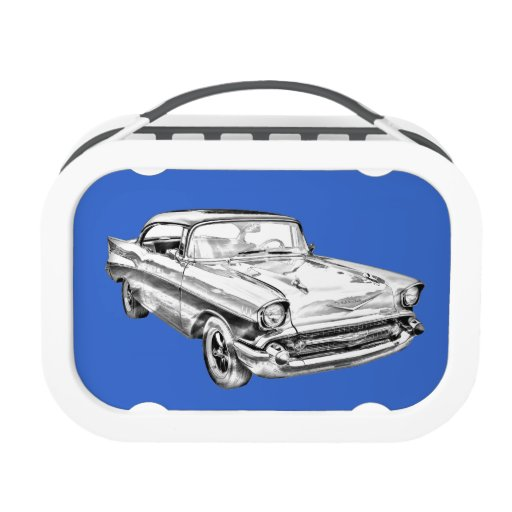 1957 Chevy Bel Air Illustration Lunchboxes