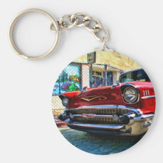 1957 Chevy Belair Nose Key Chain