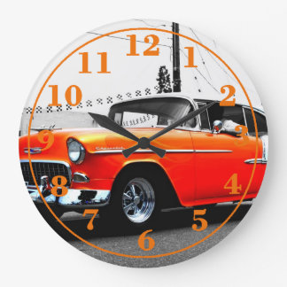 1957 chevy clock