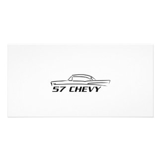 1957 Chevy Hard Top Type Photo Cards