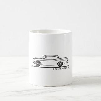 1957 Chevy Hardtop Coupe Basic White Mug