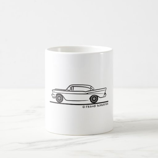 1957 Chevy Hardtop Coupe Coffee Mugs