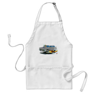 1957 Chevy Nomad Silver Car Standard Apron