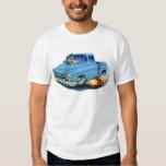 1957 Chevy Pickup Lt Blue Tee Shirt