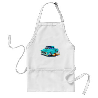1957 Chevy Pickup Turquoise Adult Apron
