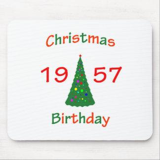 1957 Christmas Birthday Mousepad