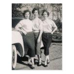 1957 GLAMOUR GIRLS #47 POSTCARD