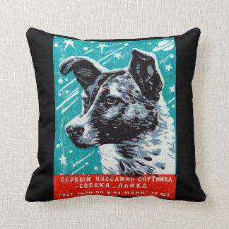 1957 Laika the Space Dog Cushion