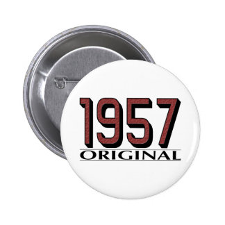 1957 Original 6 Cm Round Badge