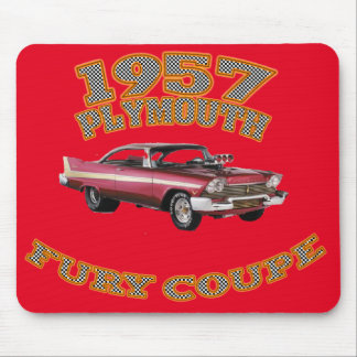 1957 Plymouth Fury Mouse Pad. Mouse Pad
