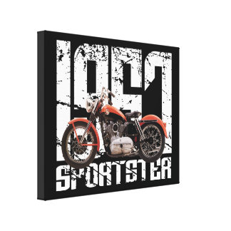 1957 Sportster Gallery Wrap Canvas