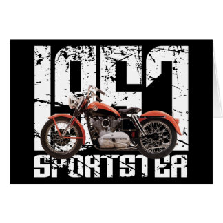 1957 Sportster Greeting Card