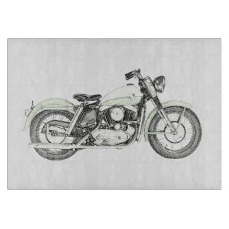1957 Sportster Motorcycle Cutting Board