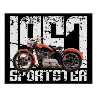 1957 Sportster Posters