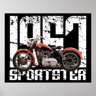 1957 Sportster Poster