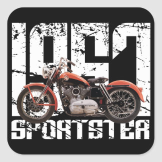 1957 Sportster Square Sticker