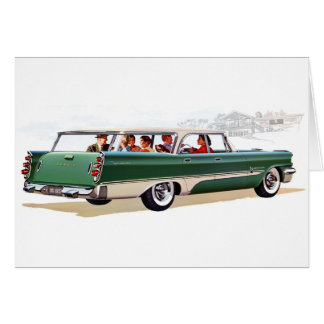 1957 Stationwagon Card