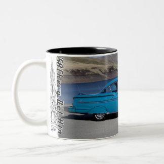 1958 Chevy Chevrolet Bel Air Classic Car Mug