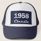 1958 Classic 60th Birthday Celebration Trucker Hat