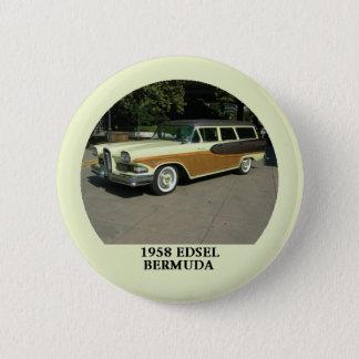 1958 Edsel Bermuda Station Wagon Button