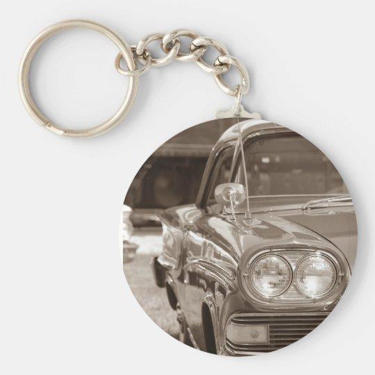 1958 Edsel Corsair Basic Round Button Key Ring