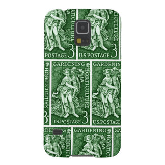 1958 Gardening + Horticulture Stamp Case For Galaxy S5