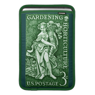 1958 Gardening + Horticulture Stamp MacBook Sleeves