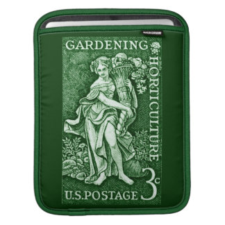 1958 Gardening + Horticulture Stamp iPad Sleeves