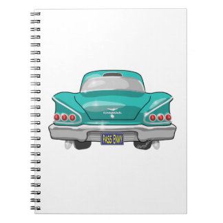 1958 Impala Pass Envy Notebooks
