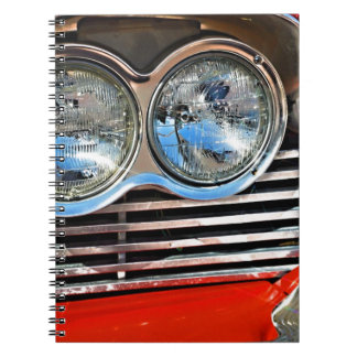 1958 Plymouth Fury Spiral Note Book