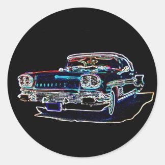 1958 Pontiac Stickers