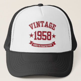 1958 Vintage Aged to Perfection Trucker Hat