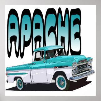 1959 Apache Poster