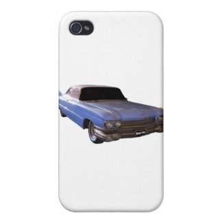 1959 Cadillac light Case For iPhone 4