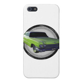 1959 Cadillac lime iPhone 5 Cover