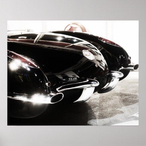 1959 Chevrolet Corvette Poster