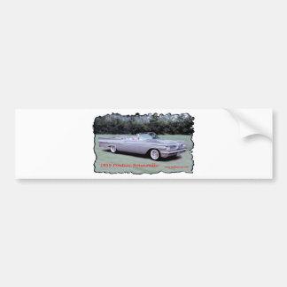 1959_Pontiac_Bonneville Bumper Sticker