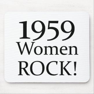 1959 Women Rock Mousepads