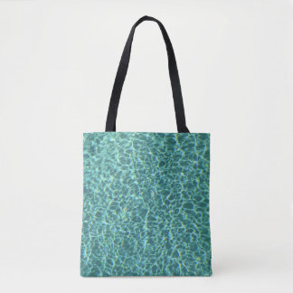 195 - Designer tote bag -  Swimming pool
