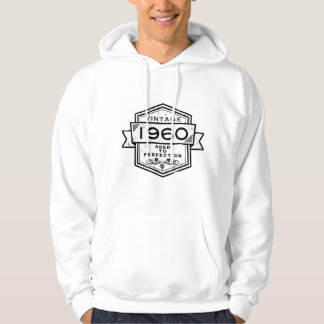 1960 Aged To Perfection Clothing Hooded Pullover