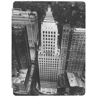 1960:  An aerial view of a Chicago skyscraper iPad Cover