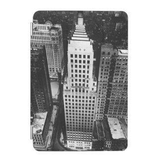 1960:  An aerial view of a Chicago skyscraper iPad Mini Cover