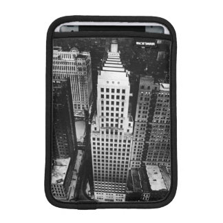 1960:  An aerial view of a Chicago skyscraper iPad Mini Sleeves