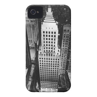 1960:  An aerial view of a Chicago skyscraper iPhone 4 Case-Mate Case