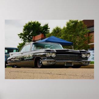 1960 Cadillac Coupe de Ville Poster