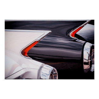 1960 Cadillac Curves Poster