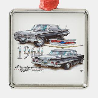 1960 Chevy Impala Sports Sedan Christmas Ornament