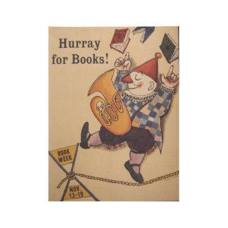 1960 Children's Book Week Wood Poster