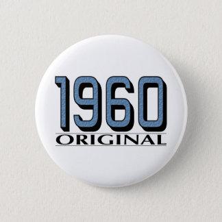 1960 Original 6 Cm Round Badge